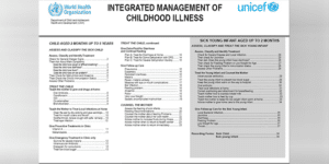 WHO Integrated Management of Childhood Illness (IMCI) Chart Booklet