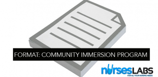 Community-Immersion-Program-Format