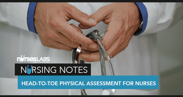 Ultimate Guide to Head-to-Toe Physical Assessment - Nurseslabs