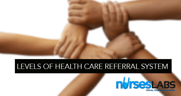 Levels of Health Care Referral System
