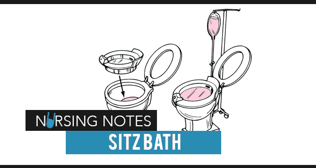 Hot Sitz Bath Nursing Interventions Procedure Nurseslabs