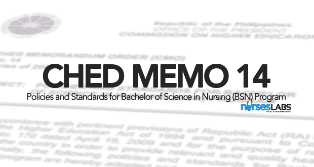 CHED Memorandum Order 14 (CMO14) Full-Text: Policies and