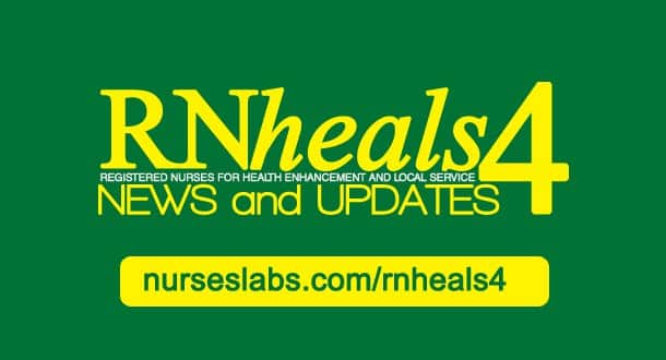 RN Heals 4 for 2013 — News & Application for RN Heals 4 | RN Heals 4