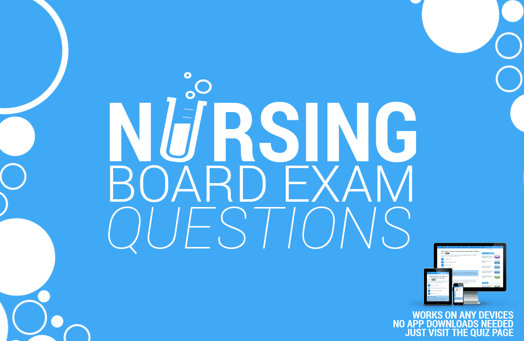 Online Nursing Board Exam