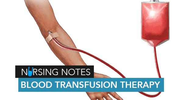 Blood-Transfusion-Therapy-&-Nursing-Management
