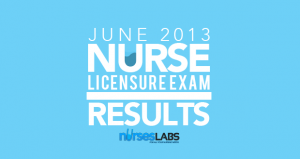 June 2013 Nursing Licensure Examination (NLE) Results