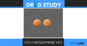 cyclobenzaprine HCl (Flexeril)