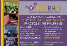 FOUNDATION COURSE ON REPRODUCTIVE HEALTH NURSING PRACTICE IN THE PHILIPPINES