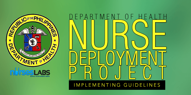 sample program standard pertaining to health care worker deployment project