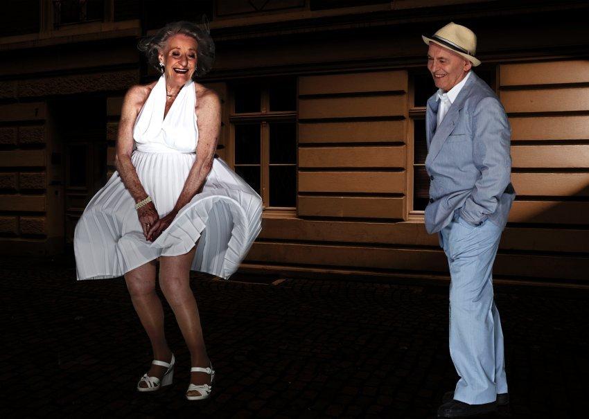 Das verflixte siebte Jahr Ingeborg Giolbass, 84, und Erich Endlein, 88