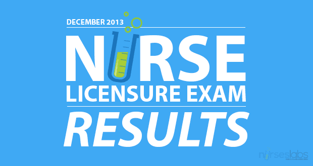 December2013NurseLicensureExamResults