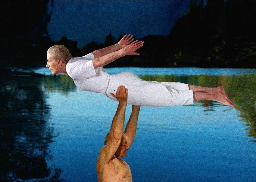 Dirty Dancing Johann Liedtke, 92 & Marianne Pape, 79,.
