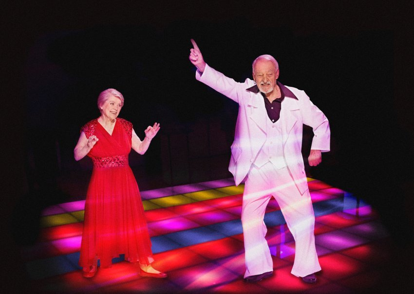 Saturday Night Fever Irmgard Alt, 79, & Siegfried Gallasch, 87,