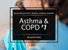 Asthma and COPD NCLEX Practice Quiz 1 (50 Items)