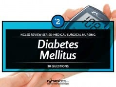 Diabetes Mellitus 2 NCLEX Practice Quiz 2 (30 Items)
