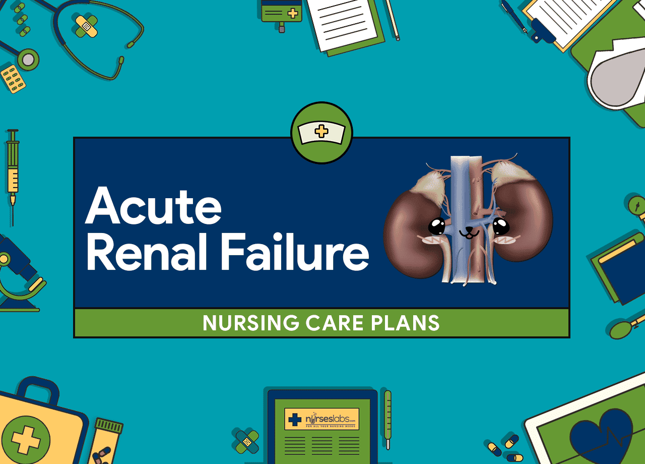 Renal Failure Concept Map.6 Acute Renal Failure Nursing Care Plans Nurseslabs