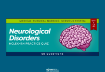 Neurological Disorders NCLEX-RN Practice Quiz #2 (50 Questions)