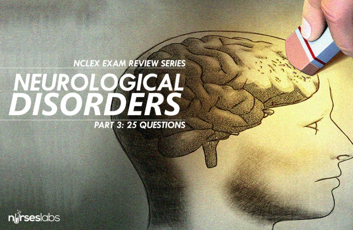 30 Item Neurological Disorders Questions