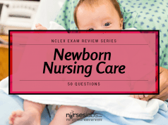 Newborn Nursing Care NCLEX Practice Quiz (50 Items)