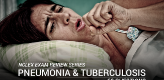 Pneumonia and Pulmonary Tuberculosis Questions