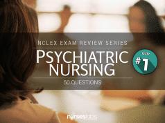 Mental Health and Psychiatric Nursing NCLEX Practice Quiz