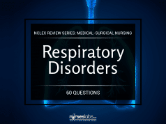 Respiratory Disorders NCLEX Practice Quiz 1 (60 Items)