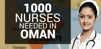 1000 Filipino Nurses Needed in Oman by the Ministry of Health