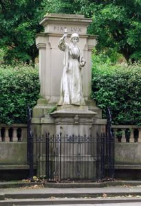Nightingale Statue, London Road, Derby