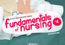 Fundamentals of Nursing NCLEX Practice Quiz 4