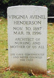 Henderson's tombstone Photo via: AAHN.org