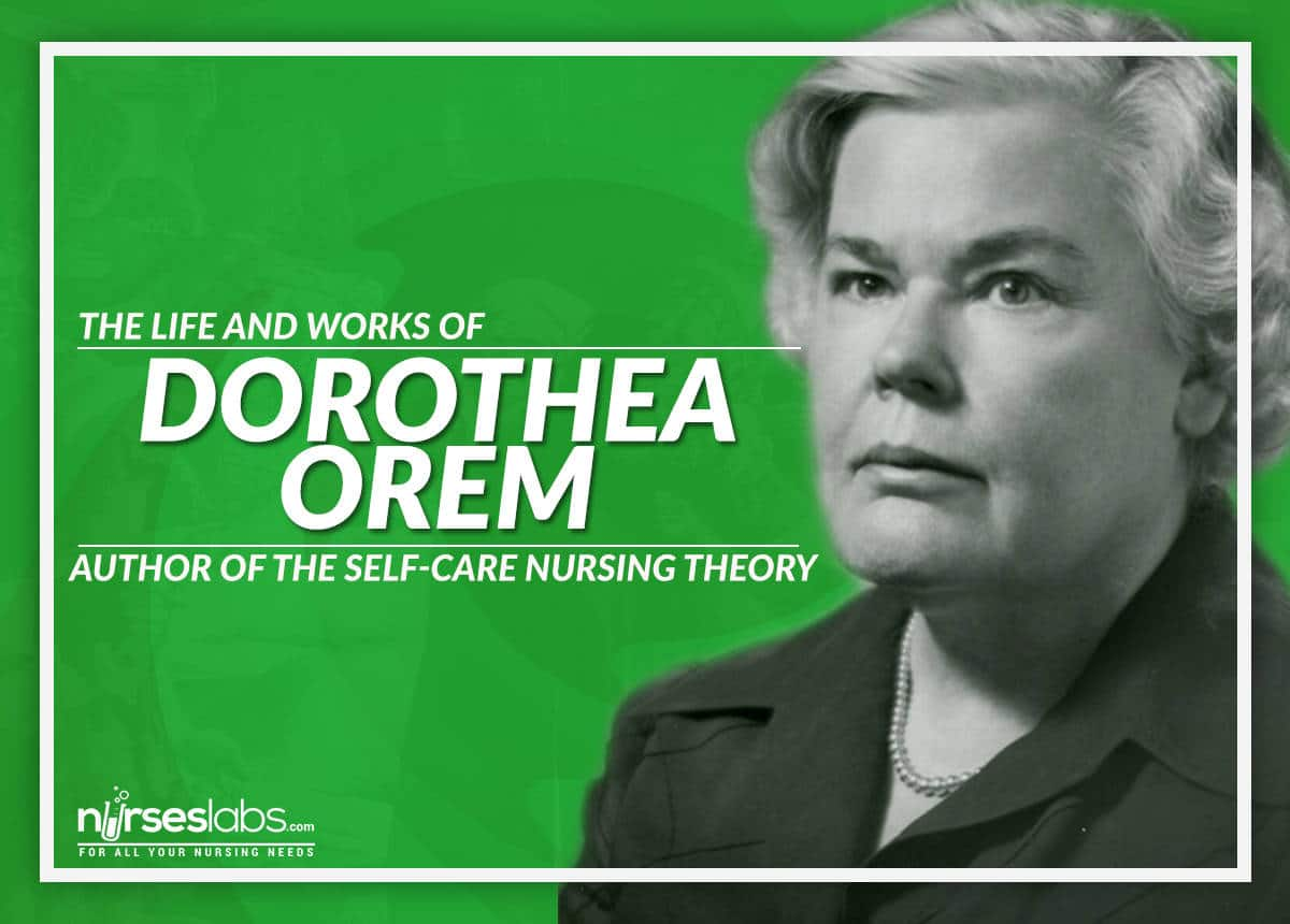 dorothea orem Dorothea orem's self-care deficit theory 985 words | 4 pages dorothea orem's self-care deficit theory biography dorothea orem's self-care deficit theory was born while dorothea orem (1917-2007) was working in the department of health education and welfare (hew) as a curriculum consultant.