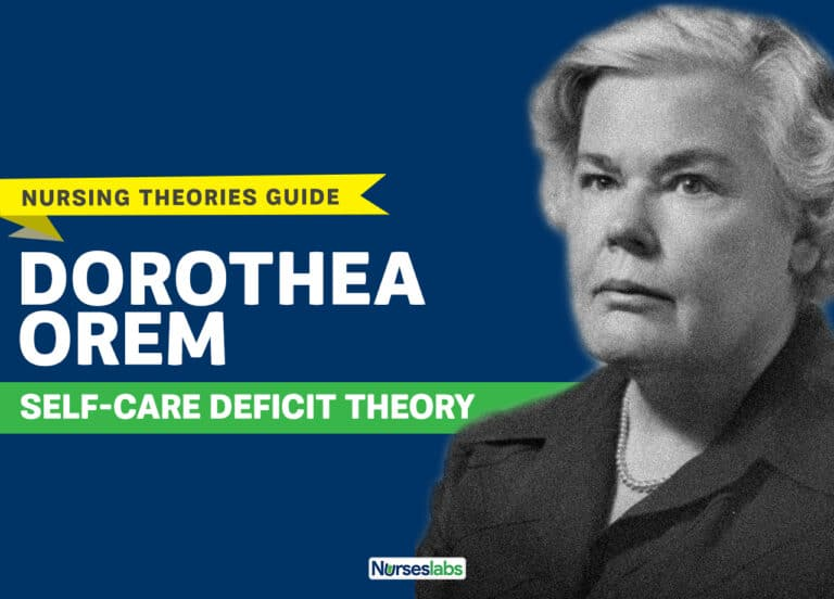 Dorothea Orem's Self-Care Deficit Nursing Theory