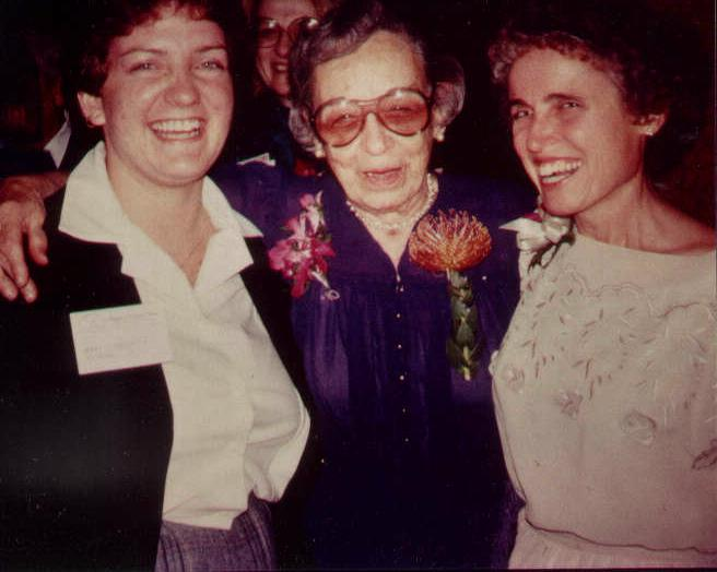 Rogers with Sr. Callista Roy (right)