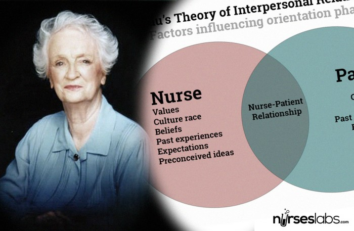 interpersonal relationship in nursing practice