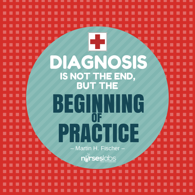 #10 Diagnosis is not the end, but the beginning of practice. – Martin H. Fischer
