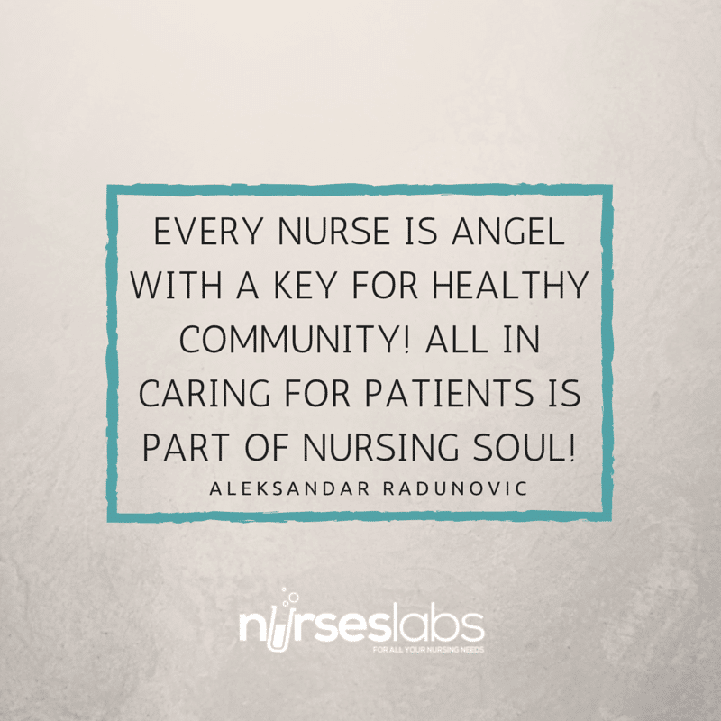 #19 Every Nurse is Angel with a Key for Healthy Community! All in Caring for Patients is part of Nursing Soul! – Aleksandar Radenovi