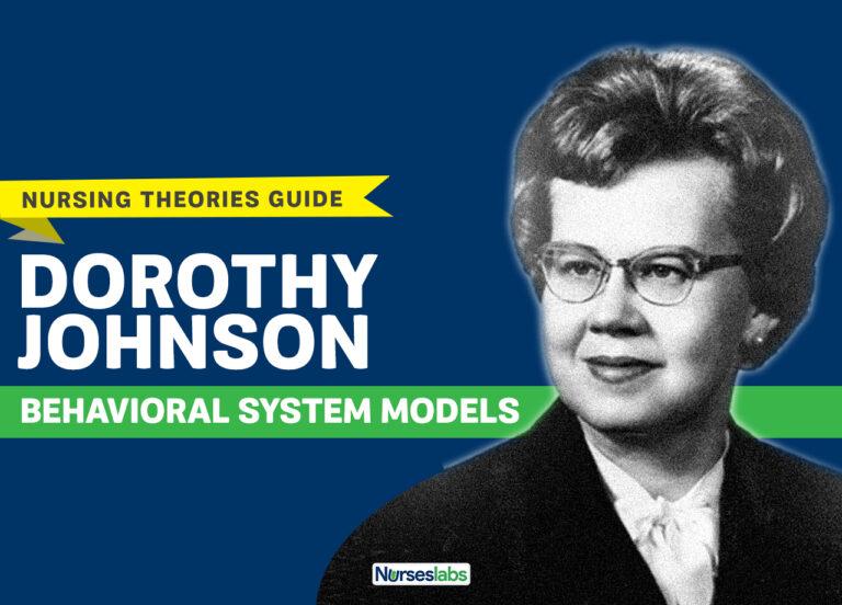 Dorothy Johnson Behavioral System Model Nursing Theory