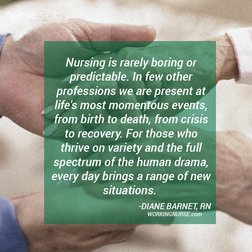 Nursing-is-Rarely-Boring---Diane-Barnet