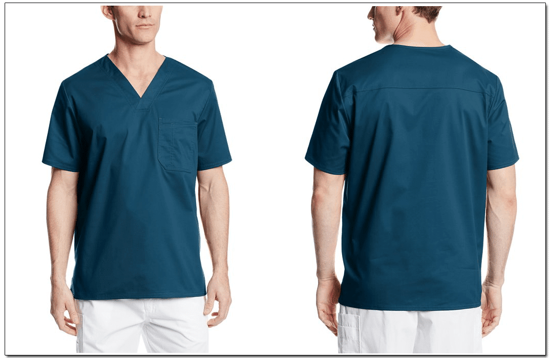 Comfortable, well-fitting scrubs. Image via: Cherokee