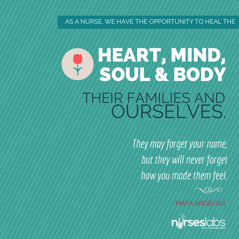 Proud Of Our Nurses And Their Family: 45 Nursing Quotes To Inspire You To Greatness