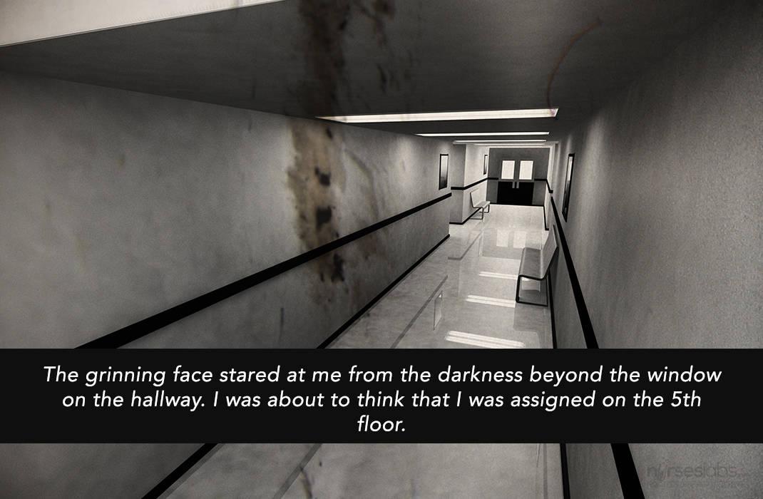13 terrifying two sentence nursing horror stories for Floor sentence