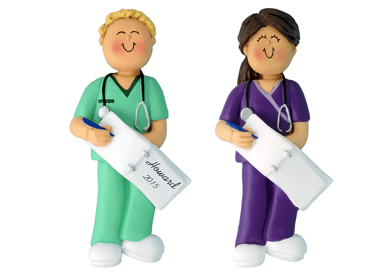 Nurse Ornaments