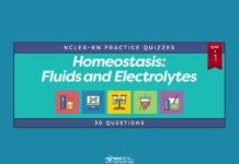 Homeostasis: Fluids and Electrolytes NCLEX Practice Quiz #1 (30 Questions)