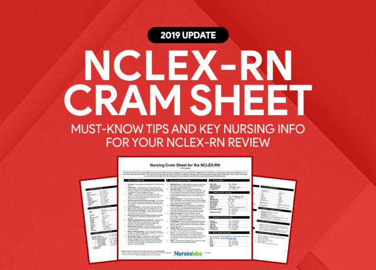 NCLEX-RN Cram Sheet for 2019