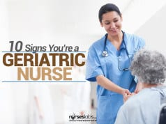 Signs Youre A Geriatric Nurse