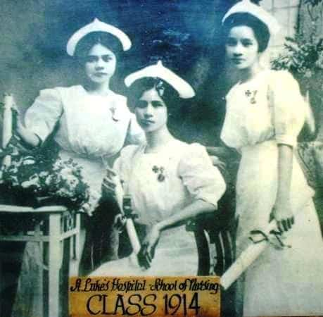 St. Luke's Hospital School of Nursing (Class 1914)