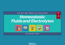 Homeostasis: Fluids and Electrolytes NCLEX Practice Quiz #4 (30 Questions)