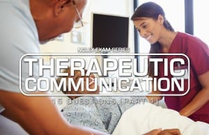 Therapeutic Communication NCLEX 1