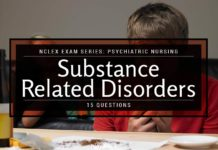 NCLEX Psychiatric Nursing: Substance-Related Disorders (15 Items)
