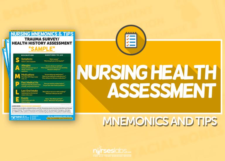 Nursing Health Assessment Mnemonics and Tips